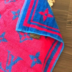Louis Vuitton towel